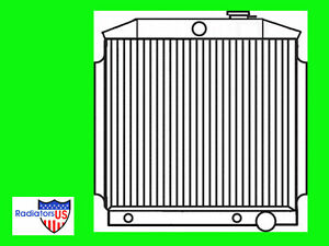 Chevy Bel Air New All Aluminum Radiator 1955 1956 1957