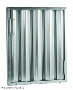Exhaust Hood Grease Filter Baffle16x16 Galvanized 31166
