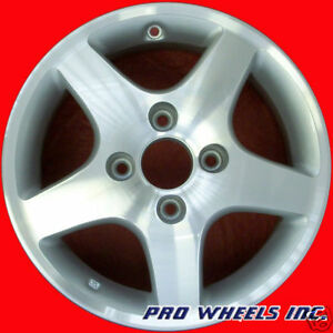 Honda Accord 1998 1999 2000 2001 15 Machined Silver Oem Wheel Rim 63785 A