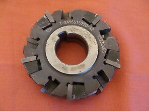 Sumitomo Indexable Slot Mill T8495515720 a2 Ys232455 1 Inch Bore Inch Slot