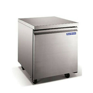 Norpole Stainless Under Counter One Door Freezer Np1f 27uc