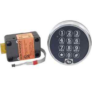 S g 6120 305 Electronic Digital Safe Lock In Chrome