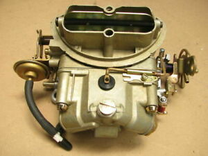 68 69 Corvette 4055 Holley Tri Power Center Carburetor 427 435hp 400hp Carb