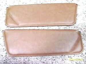1977 1981 Trans Am Camaro Camel Tan Sun Visor Set New Sierra Grain Vinyl