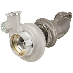 New Turbo Turbocharger W Elbow For Dodge Ram Cummins 5 9l 2000 2001 2002
