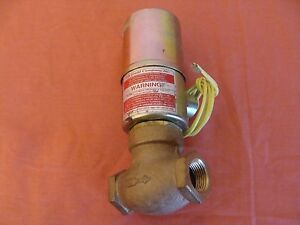 New Old Stock Gould Valve Air And Water Valve 3 4 Size Qr 3 120v