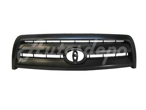 For 2003 2006 Tundra Regular access Cab Base Grille Material Black