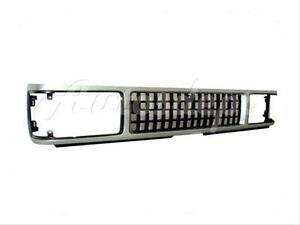 For 87 91 Isuzu Trooper trooperii Grille Silver