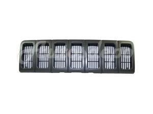 For 1996 1998 97 Jeep Grand Cherokee Grille Dark Argent Shell With Inserts