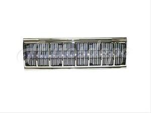 For 1991 1996 Jeep Cherokee Grille Chrome Shell With Black Insert