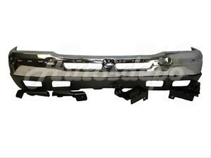 For 03 04 Chevy Silverado 1500 Front Bumper Chr Valance Ho