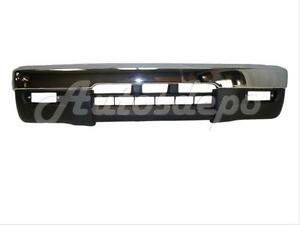 For 1995 1997 Tacoma 4wd Front Bumper Chrome Face Bar Lower Valance 2pcs