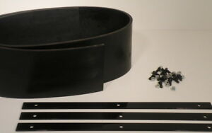 6 5 To 7 5 Ft Universal Snow Plow Deflector Kit 78 90
