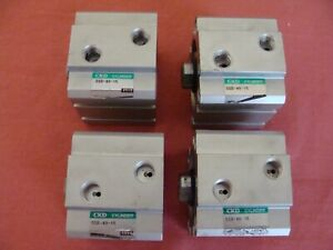 Ckd Double Acting Air Cylinder Ssd 40 15 Lot Of 4