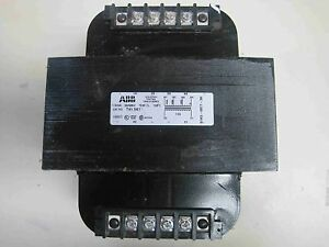 New Abb T41 5k1 Industrial Control Transformer 1500 Va