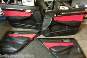 Jersey Door Inserts 06 07 08 09 Civic Si Ex Jdm Sedan