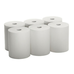 Sunnycare 10 White Paper Towel Roll 10 x800 6 Rolls case