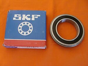 New Old Stock Skf Sealed Deep Groove Ball Bearings 6014 2rsnrjem Made In Usa