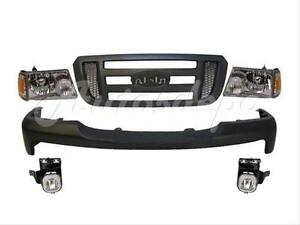 For 06 07 Ford Ranger Front Bumper Grille Headlight Park 8p