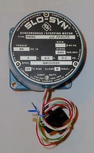 Superior Electric Slo syn Drive Motor Type Hs50 3vdc 4a