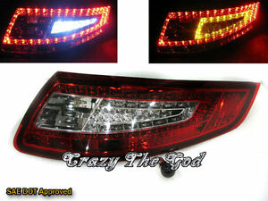 Carrera 997 911 05 Led Tail Light R Clear For Porsche