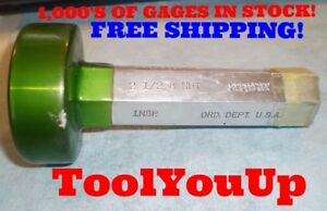 2 1 2 8 Smooth No Threads Npt Pipe Thread Plug Gage Gauge 2 5 Tool Machinist
