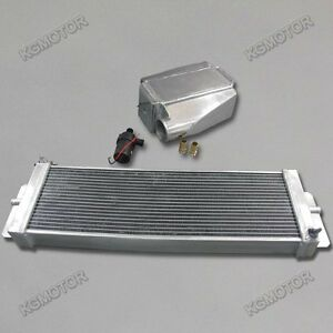 Full Water To Air Intercooler Kit pump heat Exchanger