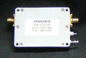 Spanawave Low Noise Amplifier 1200 2350 Mhz Sla 12023g New