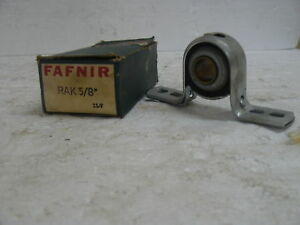 New Fafnir Rak 5 8 Pillow Block Bearing 5 8
