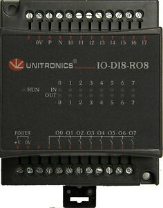 Unitronics I o Expansion Module Ex d16a3 ro8 Dig anal