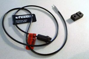 New Ifm Efector Glass Fiber Optic Sensor