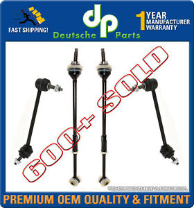 Lincoln Ls Rear Sway Bar Link Links Torque Tie Rod Rods Set Left Right 4 Pcs