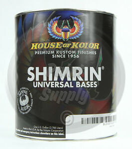 House Of Kolor S2 26 White Shimrin Universal Solid Basecoat 1 Gallon