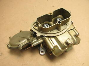 67 69 Corvette 3659 Holley Tri Power End Carburetor 427 435hp 400hp Dated Carb