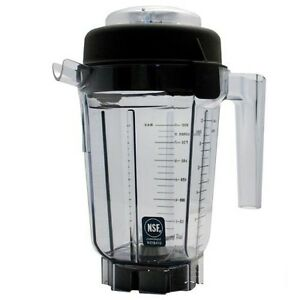 Container Pitcher Fits Vita mix 32 Oz Vita prep 15652 Blade Assembly
