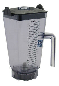 Container Pitcher Fits Vita Mix 5200 48 Oz Capacity Wet Blade