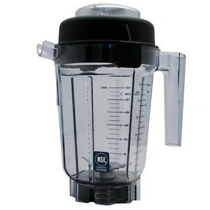 Container Pitcher 32 Oz Blending Station Vita mix 15640 W blade Lid 26648