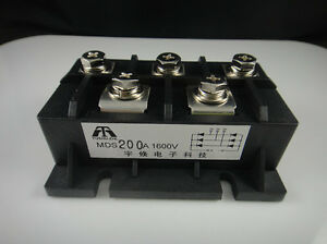 Mds200a 3 phase Diode Bridge Rectifier 200a Amp 1600v