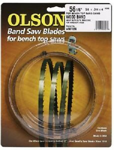 Olson 2 Pack Band Saw Blade 3 8 Wide X 93 1 2 Long 4 Tpi