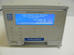 Dionex Cd20 1 Conductivity Detector