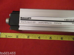 Balluff Btl2 p1 0610 f s32 Linear Transducer Micropulse Sensor B 9809us in New