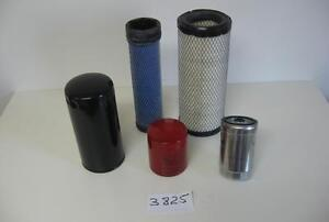 Mahindra Tractor Economy Pack Of 5 Filters 0455 0456 6648 3427 7147