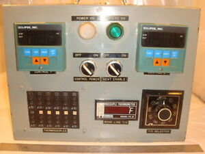 Thermocouple Temperature Oven Test Unit Heater Control Panel