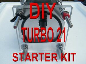 Diy Hho Turbo 21 Plate Dry Cell Build The Cell Yourself Starter Kit
