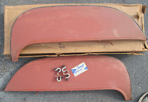 New Old Stock Foxcraft 1965 Ford Fairlane Fender Skirts Good Seals And New Clips