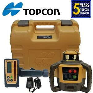Topcon Rl h5a Rb d Rotary Level With Ls 100d Receiver