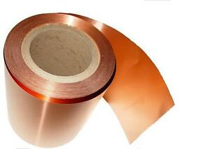Copper Sheet 10 Mil 30 Gauge Tooling Metal Roll 6 X 108 Cu110 Astm B 152