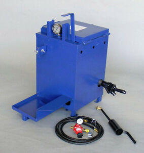 New 10 Gallon Mini Melter Asphalt Sealcoating Equipment Crackfilling