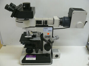 Leitz Wetzlar Laborlux S Microscope With Objectives