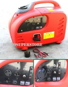 3000w Digital Inverter Gas Generator W Carb For Tailgating Emergency Rv 3000 W